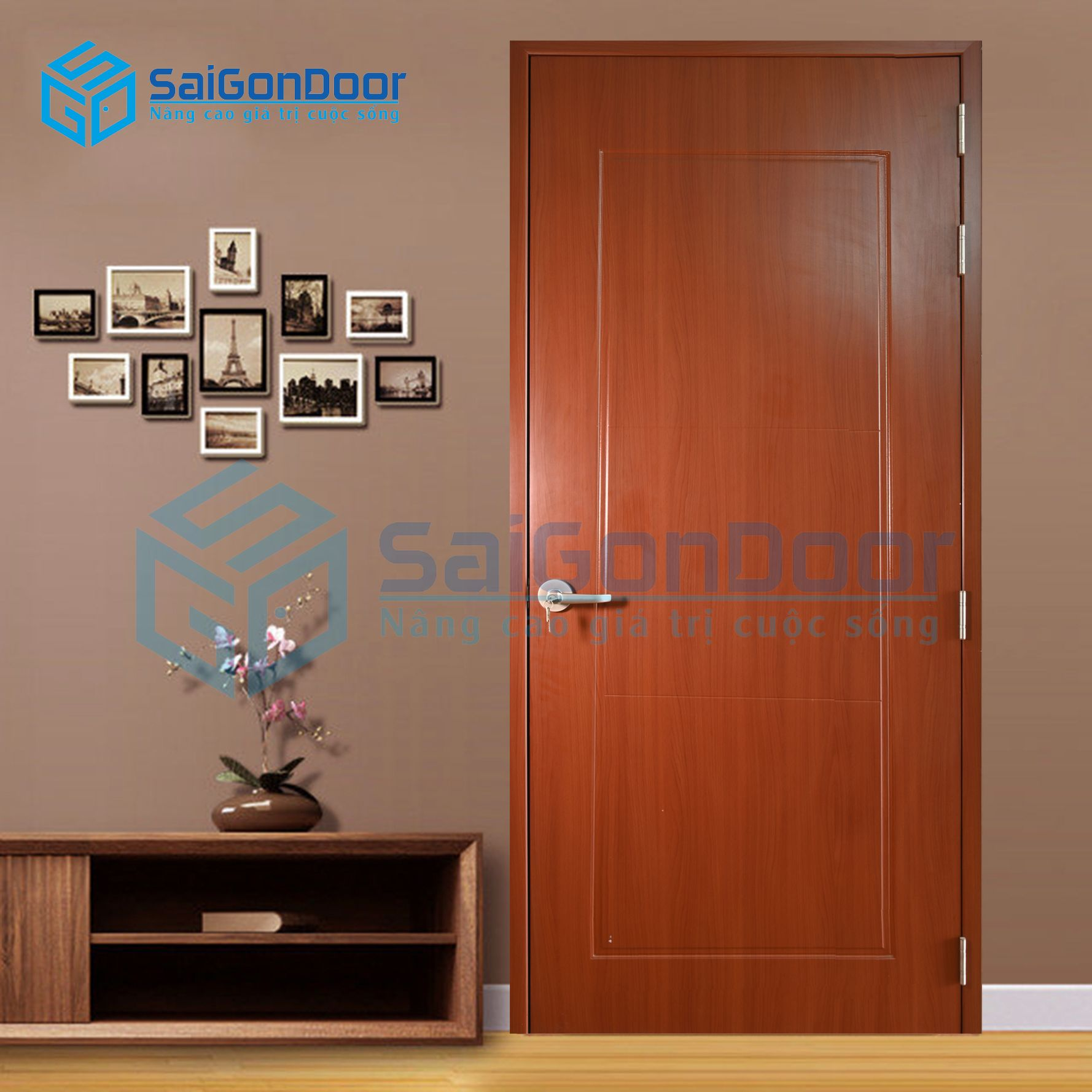 Cửa căn hộ chung cư cách âm SYA.P1B-A04