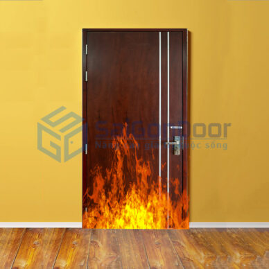 Báo Giá Cửa Gỗ Chống Cháy   Cửa Thép Chống Cháy